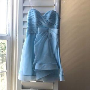 Powder blue dress by ABS Allen Schwartz
